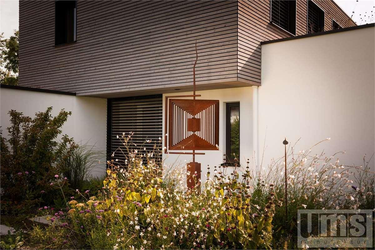 cortenstahl garten terrasse produkte, produkte für balkon, terrasse & garten aus metall   cortenstahl, Design ideen