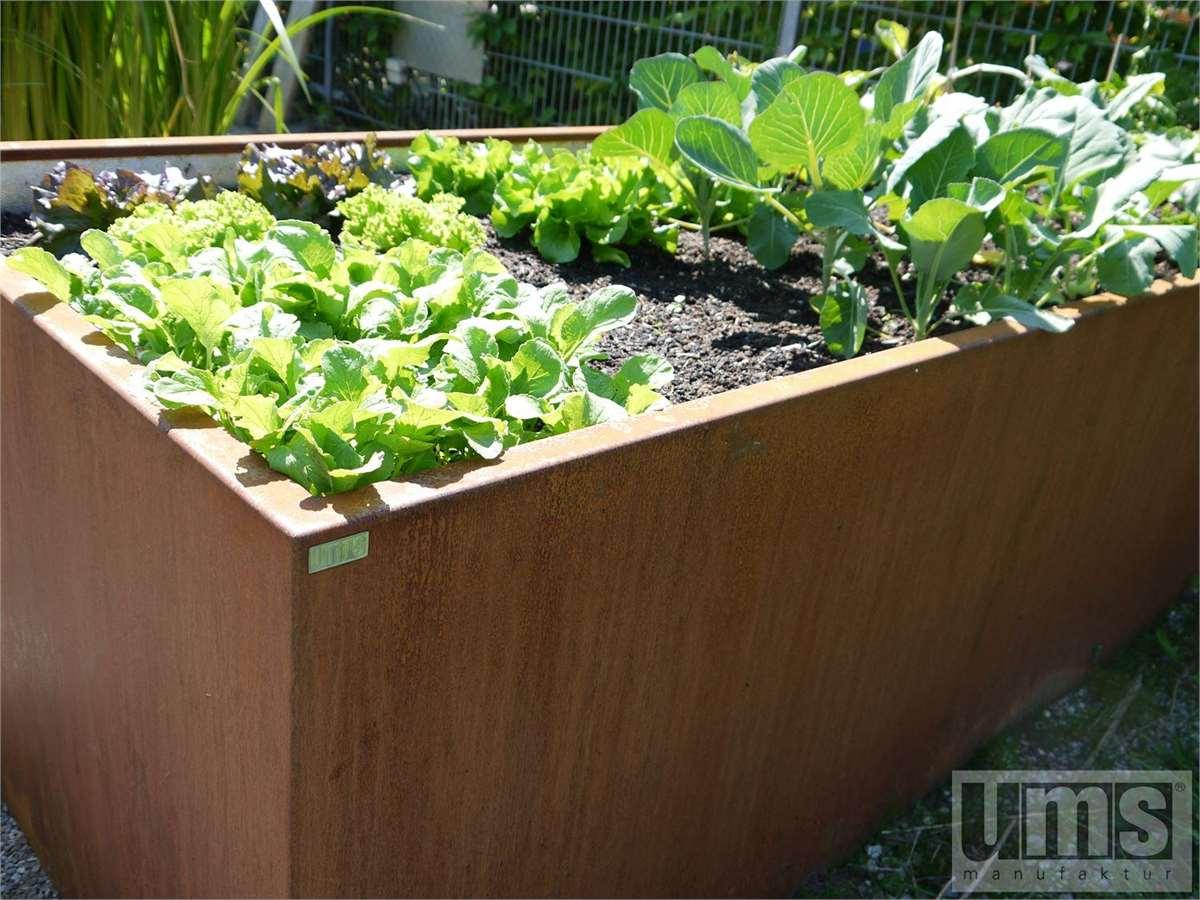 Fertige Hochbeet Und Hochbeet Bausatze Aus Metall Fur Haus Und Garten