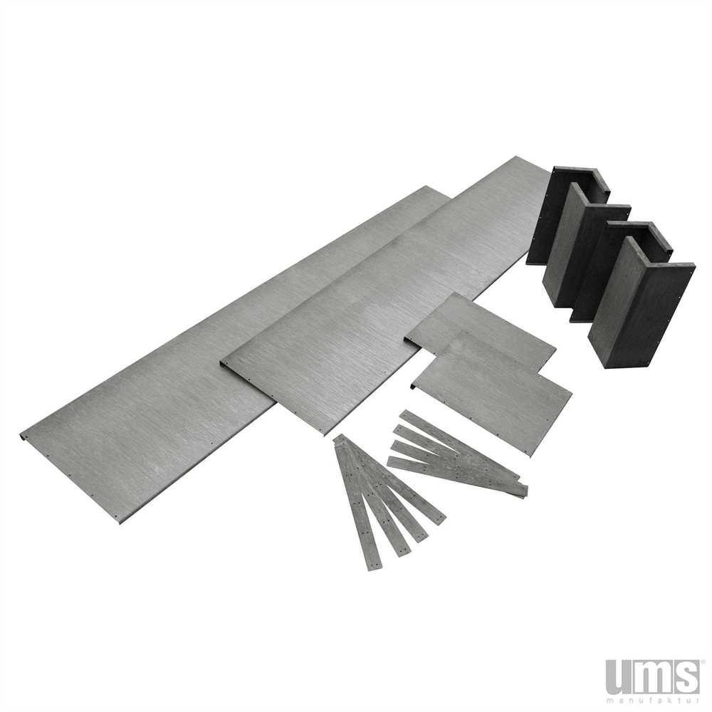 hochbeet k580 als bausatz aus edelstahl zum selberbauen. Black Bedroom Furniture Sets. Home Design Ideas