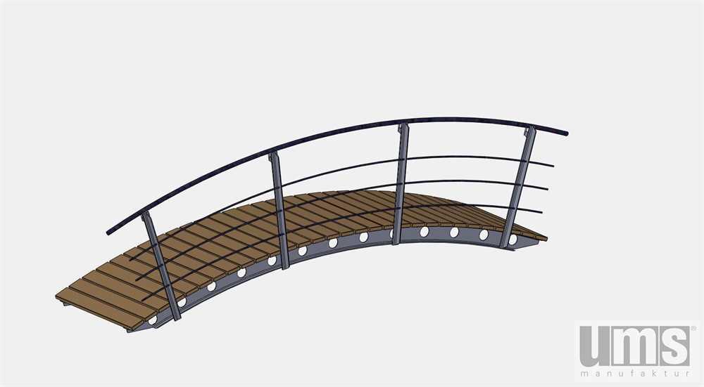 teichbr cke 1098 aus stahl inaktiv ums manufaktur. Black Bedroom Furniture Sets. Home Design Ideas