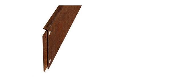 beeteinfassungen rasenkanten trockenmauern aus metall cortenstahl. Black Bedroom Furniture Sets. Home Design Ideas