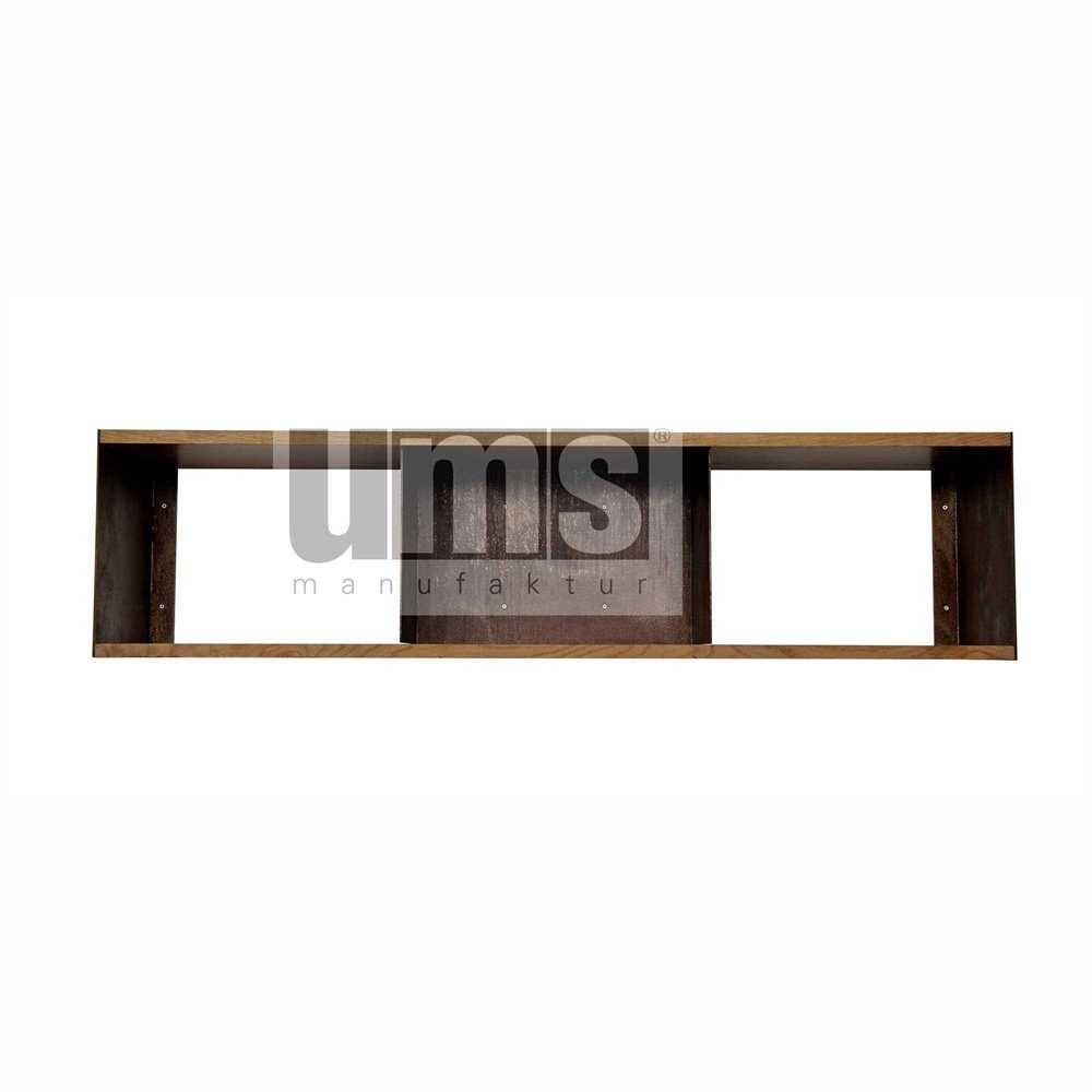 wandregal 7082 aus cortenstahl tische regale ums manufaktur. Black Bedroom Furniture Sets. Home Design Ideas