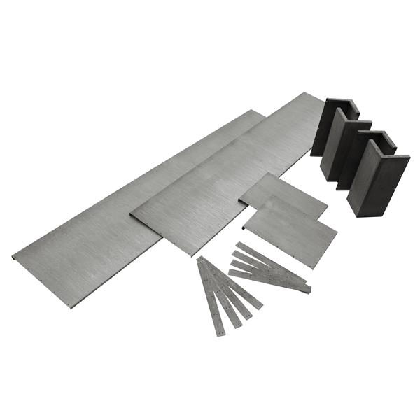 fertige hochbeet und hochbeet baus tze aus metall f r haus und garten. Black Bedroom Furniture Sets. Home Design Ideas